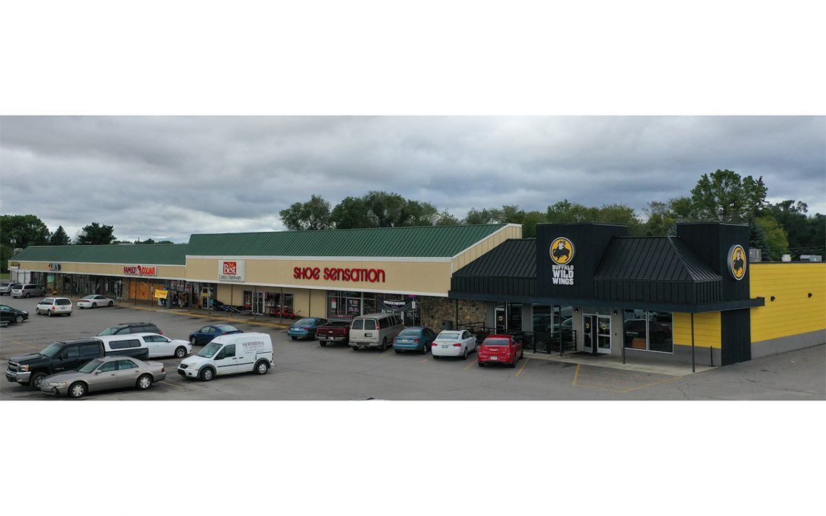Sturgis Plaza Shopping Center redesign in Sturgis Michigan